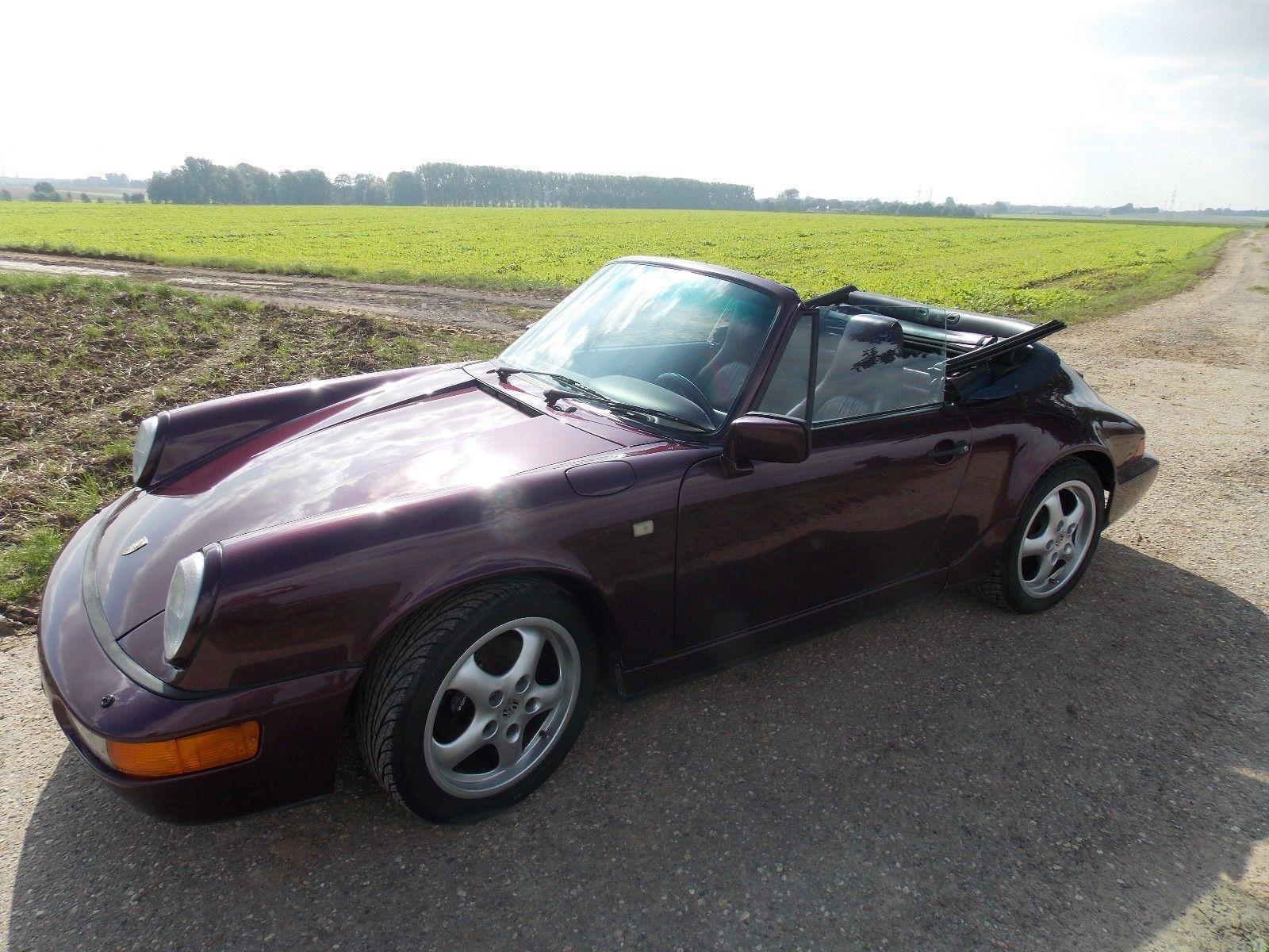 1991 porsche 911 964 carrera 2 cabrio for sale. Black Bedroom Furniture Sets. Home Design Ideas