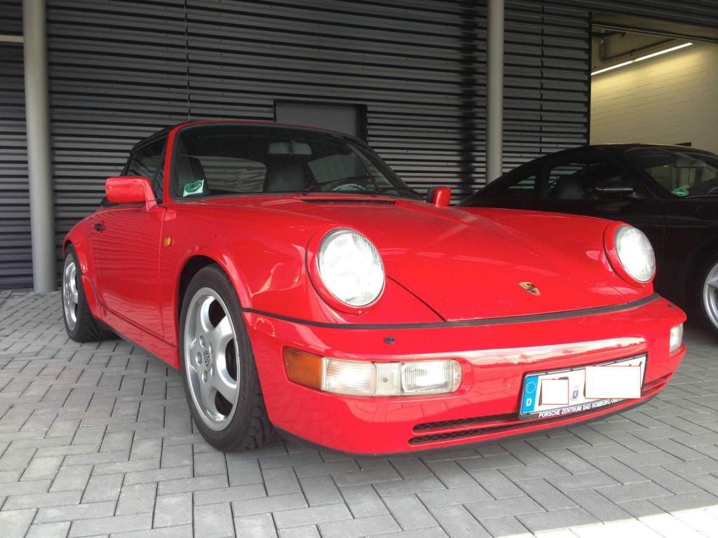 1990 Porsche 911 Carrera 4 Cabrio (964)