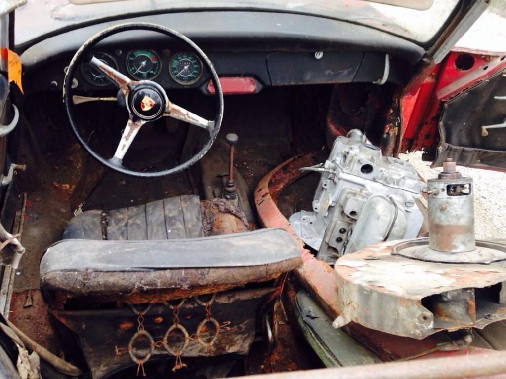 1961 Porsche 356 Bt5 Cabriolet
