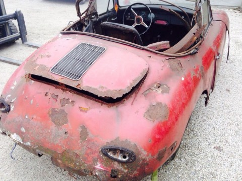 1961 Porsche 356 Bt5 Cabriolet for sale