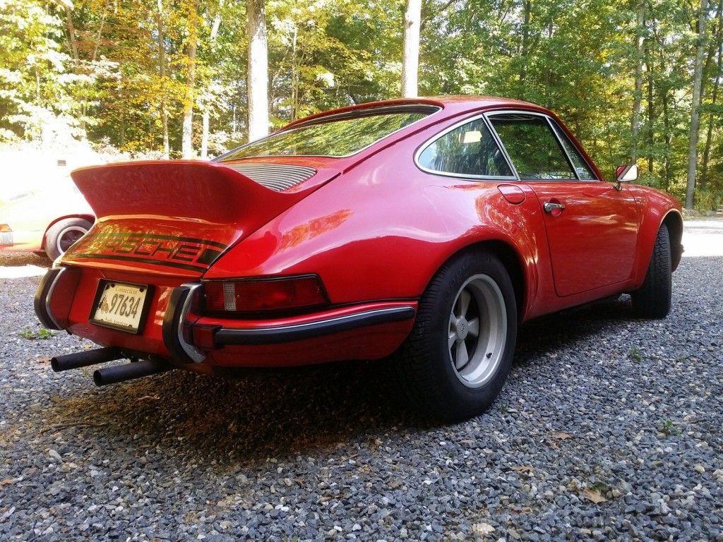 1972 Porsche 911 911E-ST