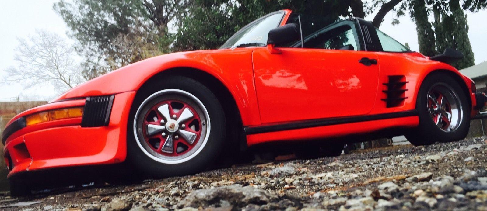 1987 Porsche 911 Carrera Targa Slant Nose For Sale