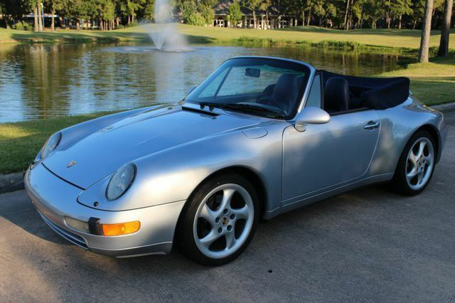 1996 Porsche 911/993 Carrera Convertible