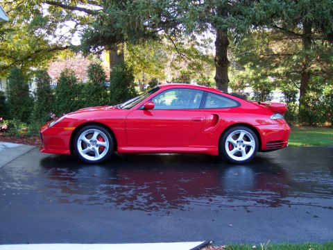 2002 Porsche 911 Turbo for sale