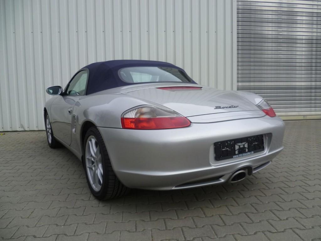 2002 Porsche Boxster 2,7 Classic