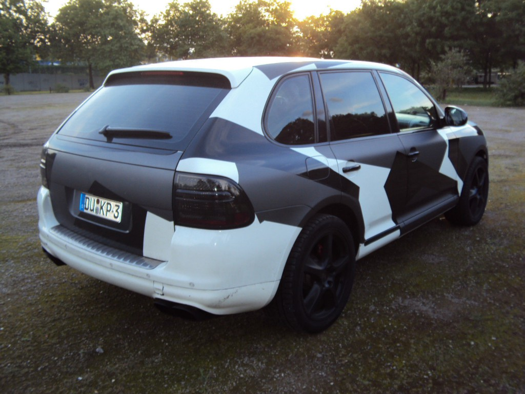 2002 Porsche Cayenne 4.5 Turbo
