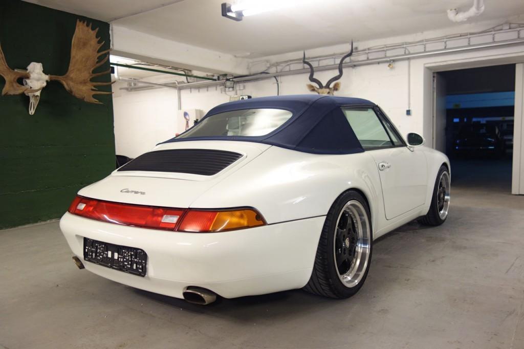 1996 Porsche 911 993 Cabrio Carrera 2 For Sale