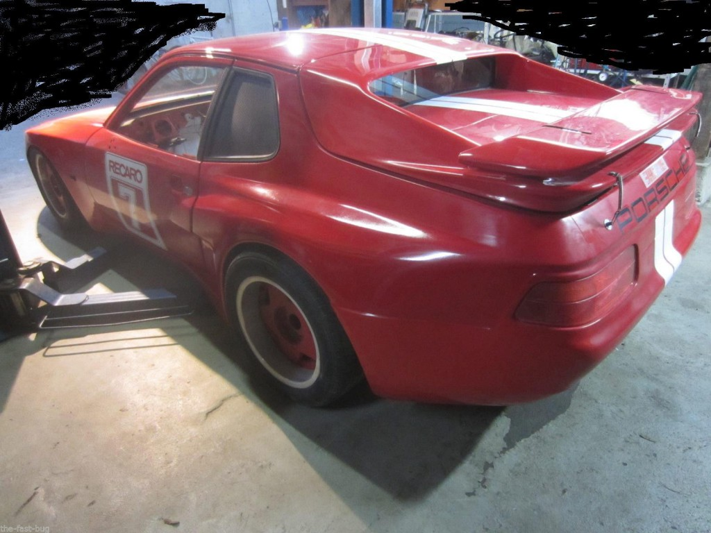 1980 Porsche 924 Oettinger OE 2300 Karosse Becker Turbo Optik 968 Heck