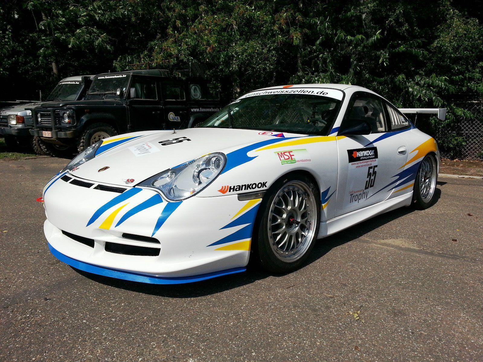 2004 Porsche 996 Cup For Sale: 2003 Porsche 996 GT3 Cup For Sale
