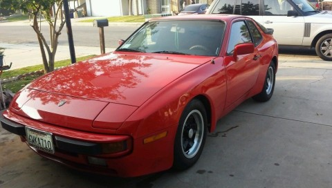 1984 Porsche 944 red for sale
