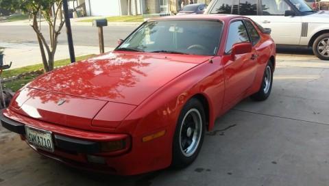 1984 Porsche 944 red for sale