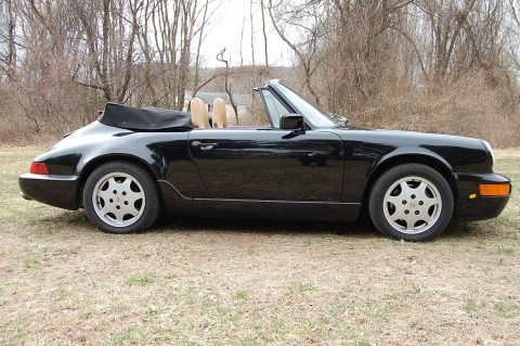 1991 Porsche 964 C-4 Cabriolet Fully Sorted+excellent Condition for sale