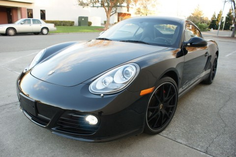 2012 Porsche Cayman S Black EDITION for sale