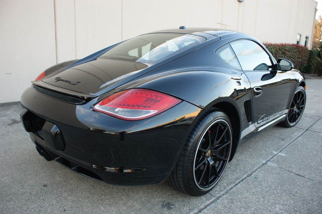 2012 Porsche Cayman S Black EDITION