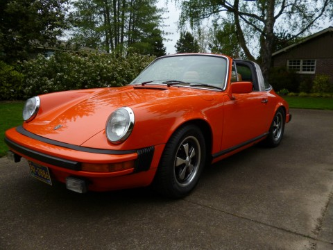 1977 Porsche 911 targa for sale