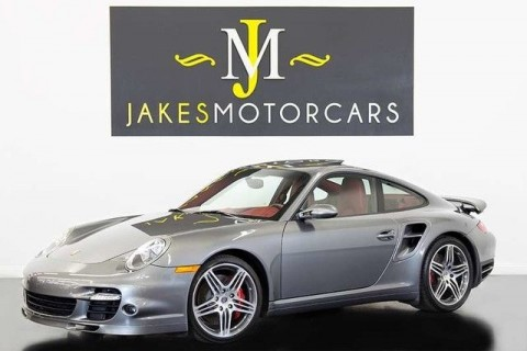 2009 Porsche 911 Turbo Coupe (1-OWNER) for sale
