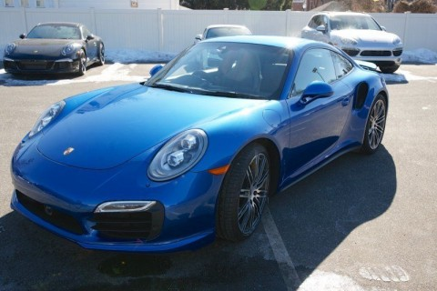 2014 Porsche 911 Turbo S PDK AWD Certified Pre-owned CPO for sale