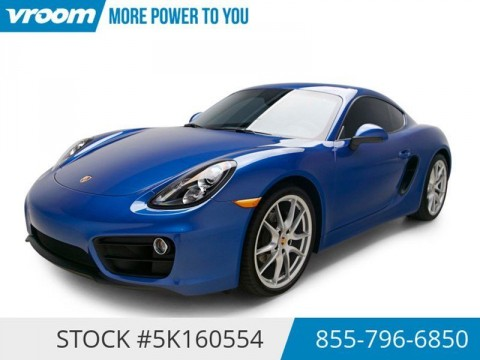 2015 Porsche Cayman Certified 2015 5K LOW Miles Cruise Clean CARFAX for sale