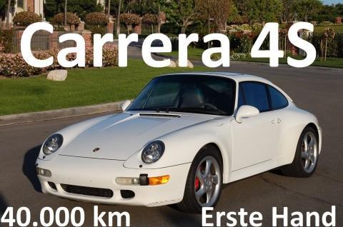 1996 Porsche Carrera 4S 911 993 40.000 km, Aus Erstbesitz, Varioram, Erstlack for sale