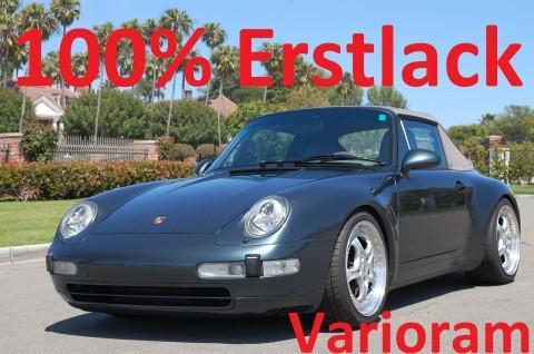 1996 Porsche Carrera Cabriolet 911 993 85.035 km, Aus Erstbesitz, Varioram for sale