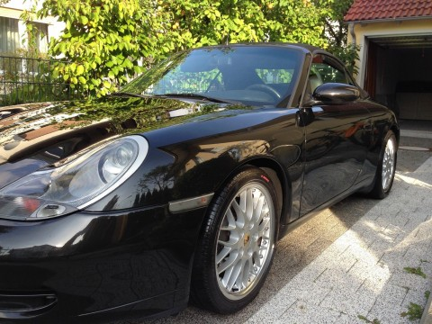 2000 Porsche 911 Carrera Cabrio / Roadster Tiptronic S   Unikat, 454 PS (TTP TURBO) for sale