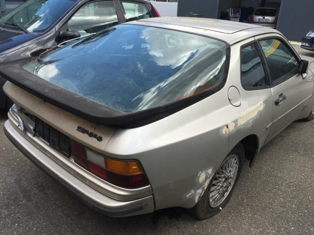 Porsche 944, mit 924 Felgen, Restaurationsobjekt, Günstig, Mindestpreis gesenkt