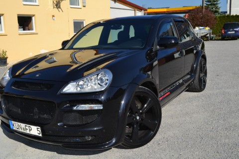 Porsche Cayenne Seltene Original Uwe Gemballa GT 650 Bi Turbo for sale