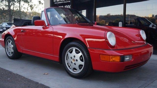 1991 Porsche 911 964 Cabriolet