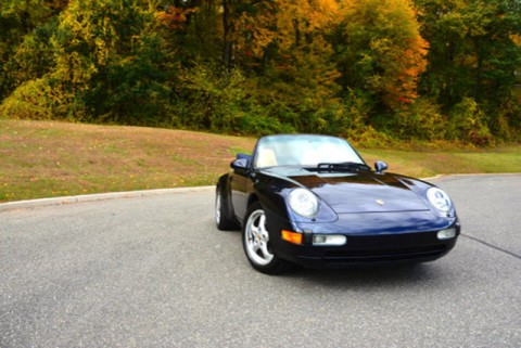1995 Porsche 911 2dr Cabriolet Carrera 6 Speed Manual for sale