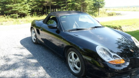 2001 Porsche Boxster Roadster Convertible 2.7L manual for sale