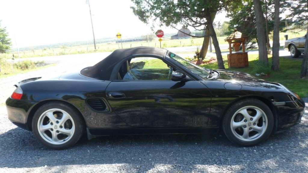 2001 Porsche Boxster Roadster Convertible 2.7L manual