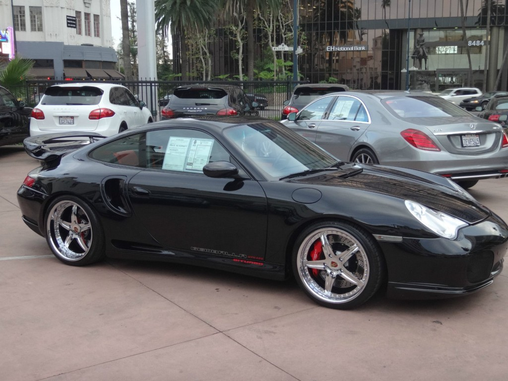 2002 Porsche 911 996 Gemballa GTR 600