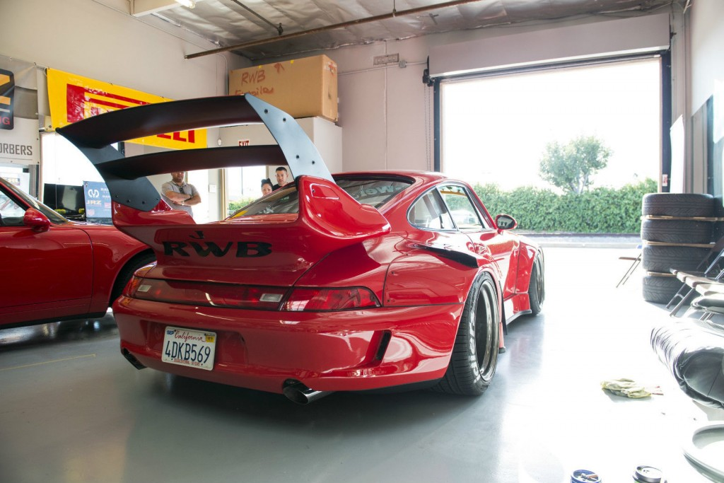 1995 Porsche RWB 993 911 Carrera 2