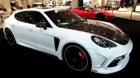 2010 Porsche Panamera Full Mansory Package 1 OF 1 Widebody for sale