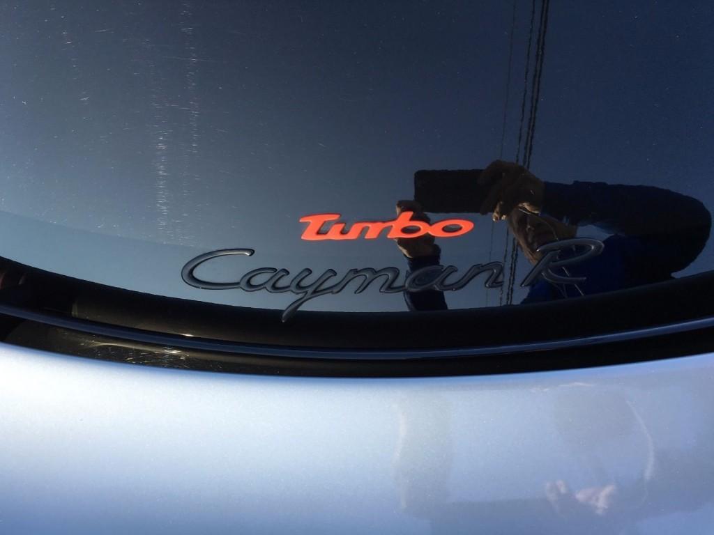 2012 Porsche Cayman R TPC Turbo