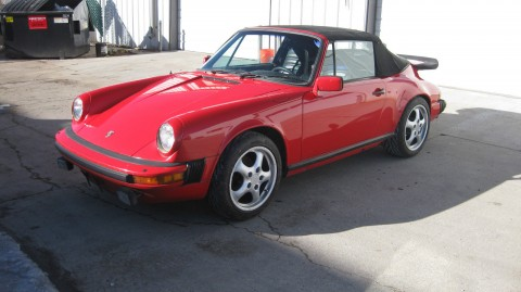 1983 Porsche 911 SC Cab for sale
