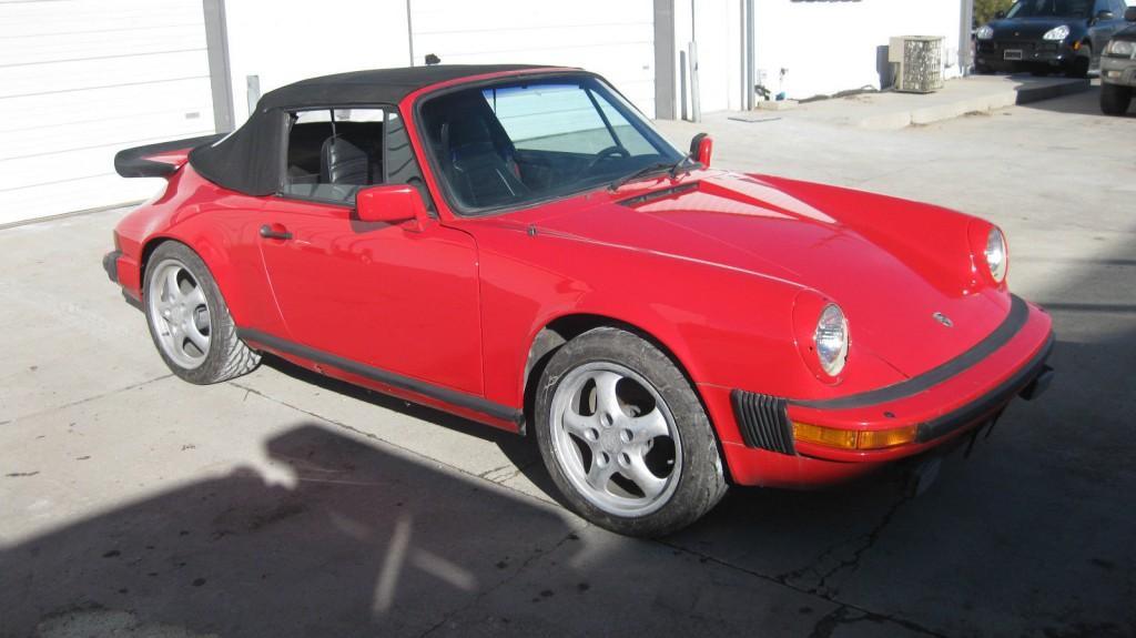 1983 Porsche 911 SC Cab