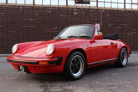 1983 Porsche 911 SC Convertible for sale