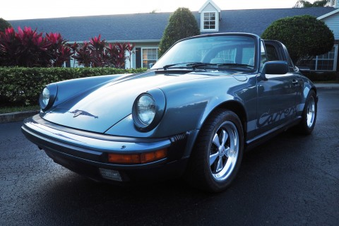 1984 Porsche 911 Carrera Targa for sale