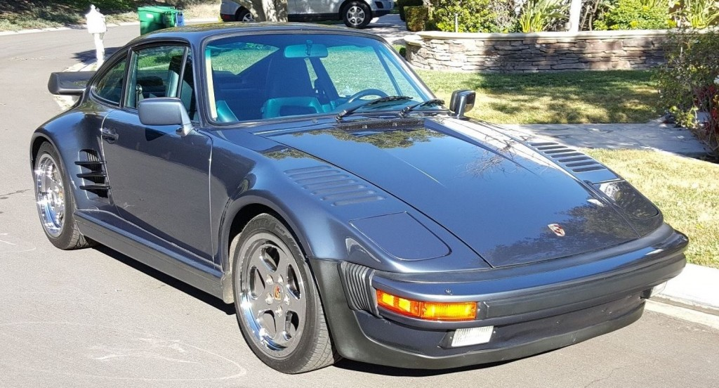 1985 porsche 911 factory wide body for sale. Black Bedroom Furniture Sets. Home Design Ideas