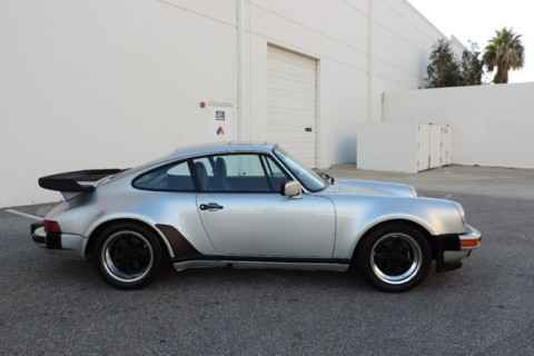 1986 Porsche 911 930 Turbo Silver Metallic S7 for sale