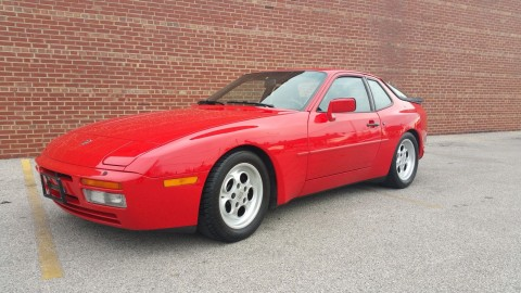 1986 Porsche 944 TURBO 2.5L for sale