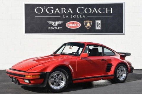 1987 Porsche Factory 930 Turbo Slant Nose for sale