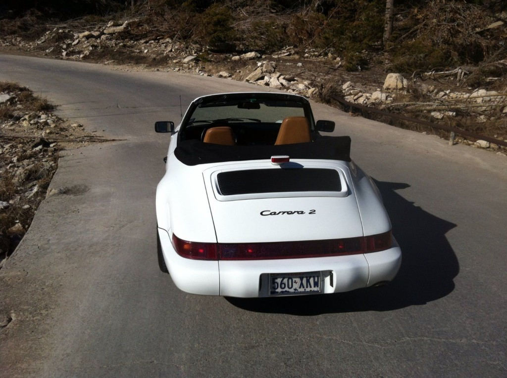 1990 Porsche 964 Cabriolet carrera