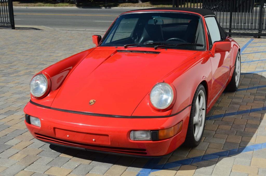 1991 Porsche 911 / 964 Carrera 2 Convertible
