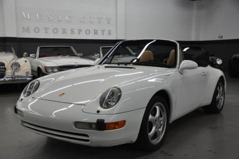 1996 Porsche 911 Carrera Cabriolet for sale