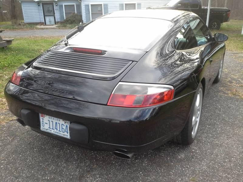 2000 Porsche 911 Carrera 996