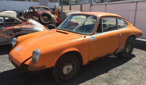 1968 Porsche 912 Bahama Yellow for sale