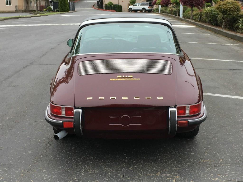 1970 Porsche 911E Targa Top