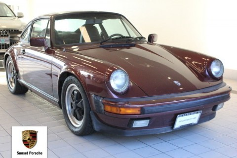 1984 Porsche 911 Carrera Coupe for sale